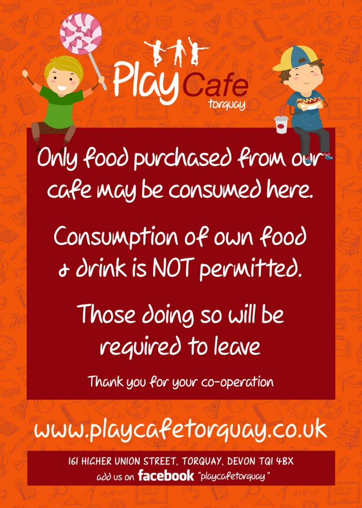 Play-Cafe-Food-Purchased-Poster