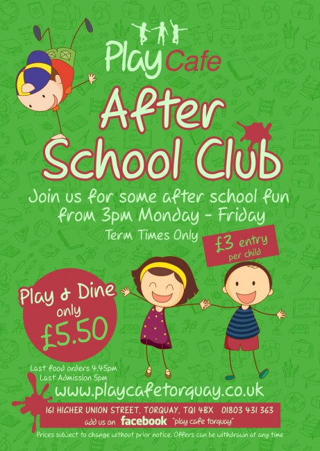 play-cafe-after-school-club-poster